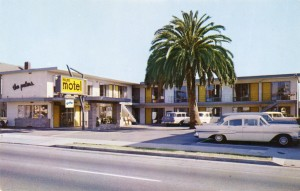 Palms Motel, 829 West MacArthur Blvd. on U. S. Hwy. 50, Oakland, California